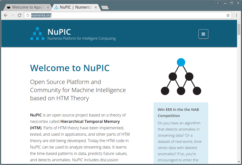 NuPIC Machine Intelligence