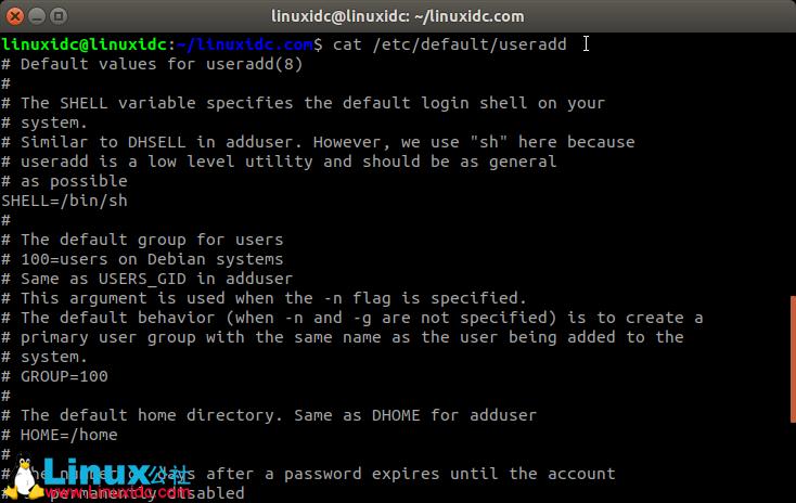 Linux useradd命令添加新用户图文详解