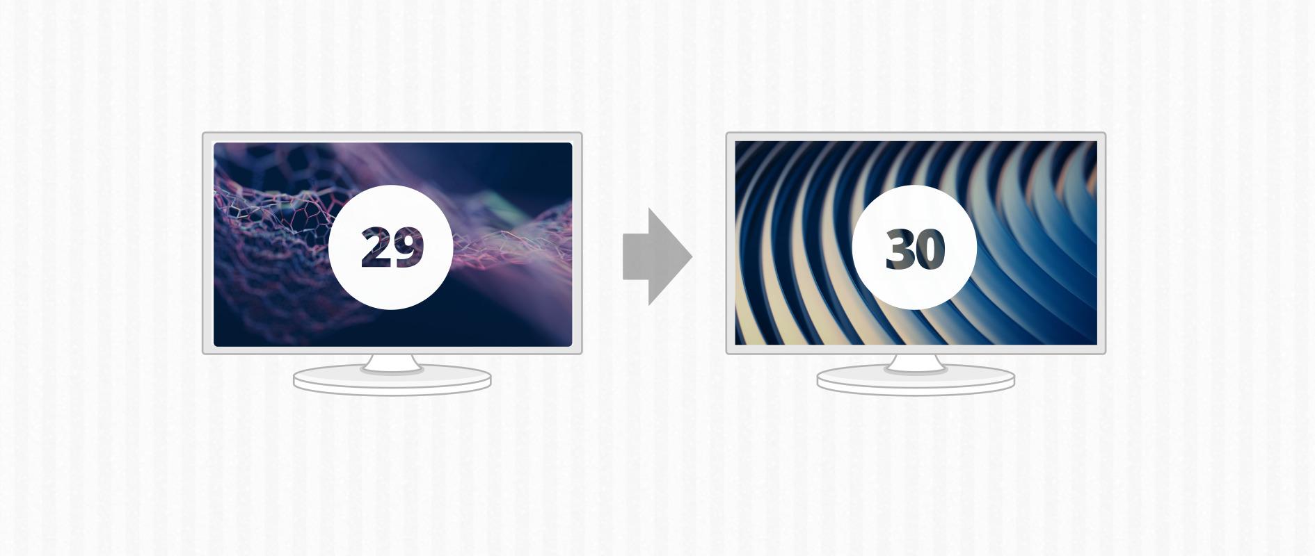 将Fedora 29升级到Fedora 30