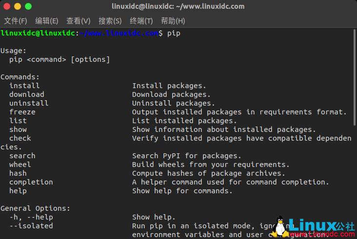如何使用PIP管理Python包