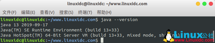 如何在Ubuntu 19.04、18.04、16.04中安装Oracle Java 13