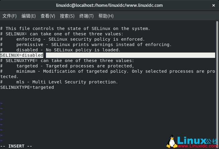 如何在CentOS 8上禁用SELinux