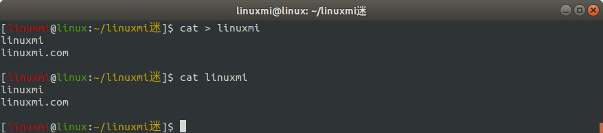 Linux常用命令 cat 使用简述