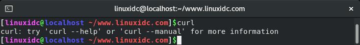 如何在CentOS 8上安装和使用curl