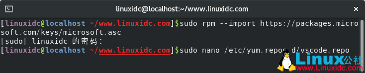 如何在CentOS 8上安装Visual Studio Code
