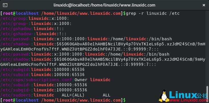 Linux中的Grep命令(在文件中查找文本)